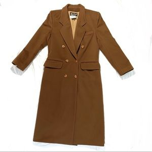 Vintage Le Tournis Wool and Cashmere Overcoat